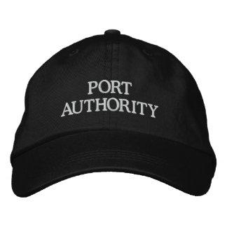 PORT AUTHORITY GORRA BORDADA