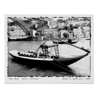 Port Boat - Porto, Portugal Photography Print
