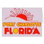Port Charlotte, Florida Greeting Card