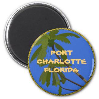 Port Charlotte Florida refrigerator magnet
