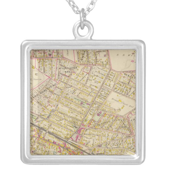 Port Chester, New York Silver Plated Necklace