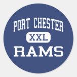 Port Chester - Rams - High - Port Chester New York Sticker