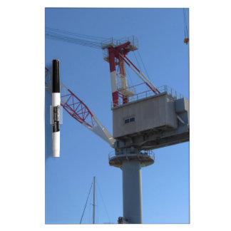 Port crane Dry-Erase boards