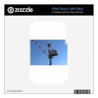 Port crane iPod touch 4G skins