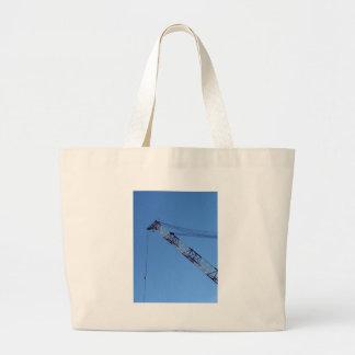 Port crane large tote bag