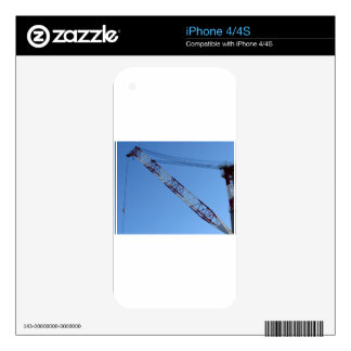 Port crane skins for the iPhone 4