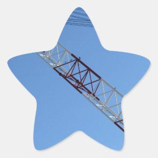Port crane star sticker