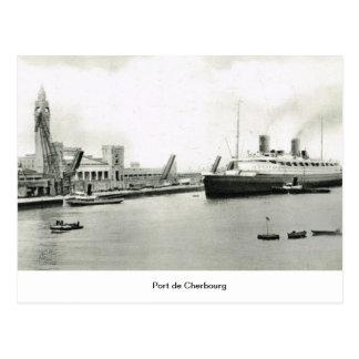 Port de Cherbourg Postcard