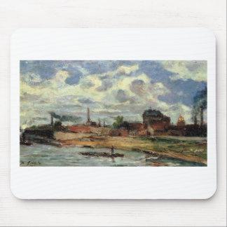 Port de Javel de Paul Gauguin Alfombrilla De Raton