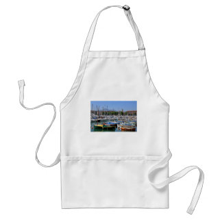 Port de Nice in France Adult Apron