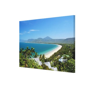 Beach Themed Port Douglas Canvas Print