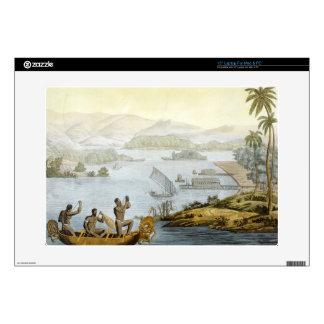 Port Dury, plate 75 from 'Le Costume Ancien et Mod Laptop Skin