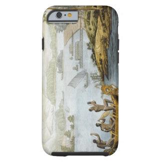 Port Dury, plate 75 from 'Le Costume Ancien et Mod Tough iPhone 6 Case