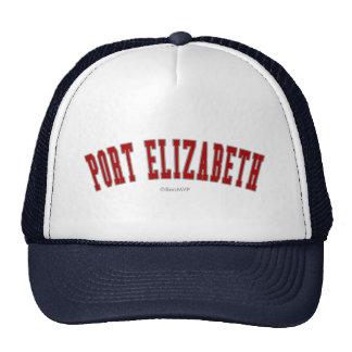 Port Elizabeth Gorro De Camionero