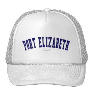 Port Elizabeth Gorros Bordados