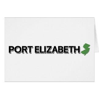 Port Elizabeth New Jersey Greeting Cards