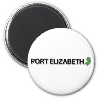 Port Elizabeth New Jersey Refrigerator Magnet
