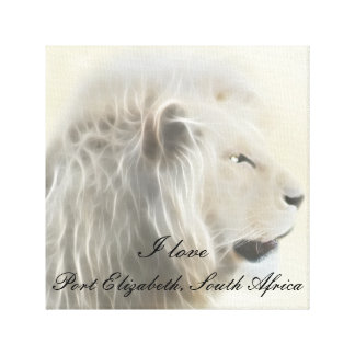 Port Elizabeth South Africa Canvas Print