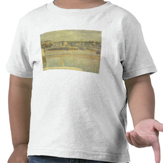Port-en-Bessin The terminal at low tide by Seurat Shirt