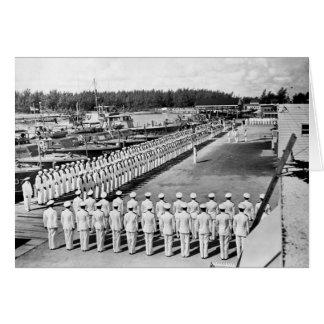 Port Everglades PT Boats Greeting Cards