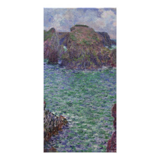 Port-Goulphar, Belle-Ile by Claude Monet Card