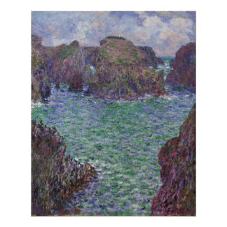 Port-Goulphar, Belle-Ile by Claude Monet