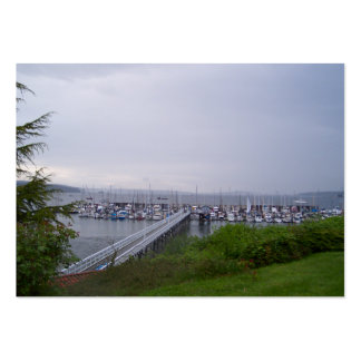 Port Hadlock Large Business Cards (Pack Of 100)
