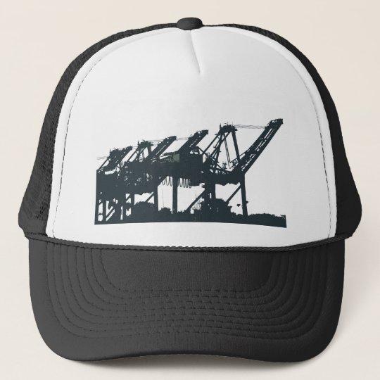 Port Harbror Cranes Hat