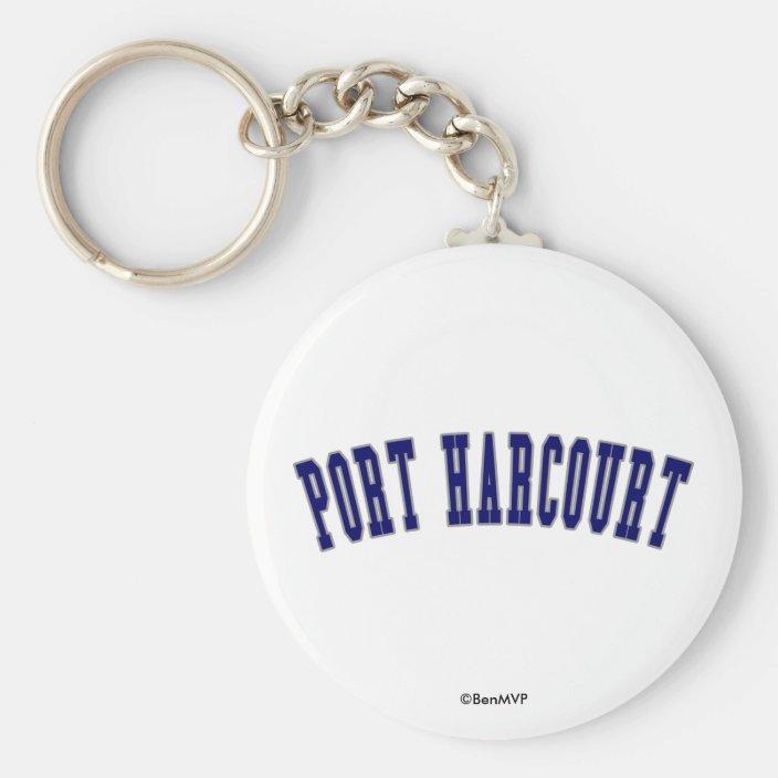 Port Harcourt Keychain