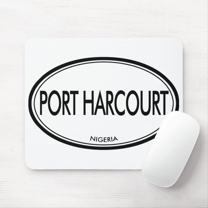 Port Harcourt, Nigeria Mouse Pad