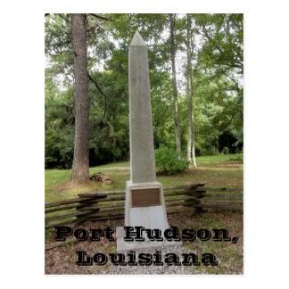 Port Hudson Battlefield Monument Postcard