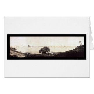 Port Huron MI Photo 1912 Greeting Card