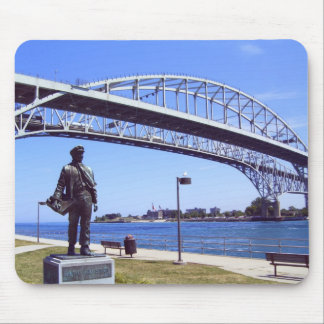 Port Huron Michigan Mouse Pad