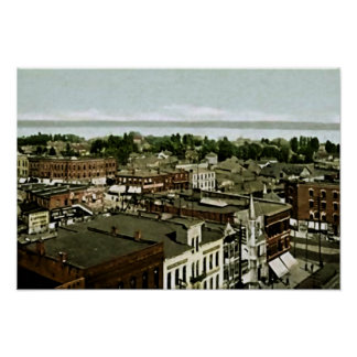 Port Huron, Michigan Poster