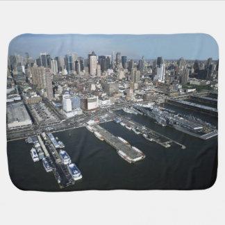 Port in New York City Baby Blanket