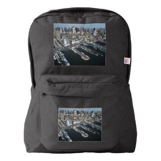 Port in New York City Backpack