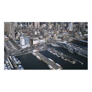 Port in New York City Business Card