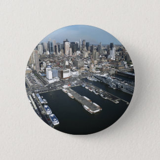 Port in New York City Button