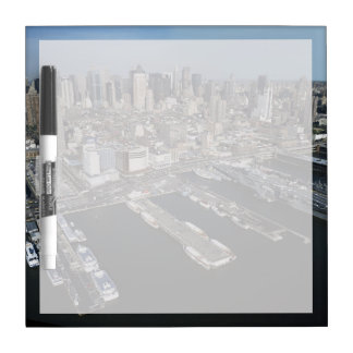Port in New York City Dry Erase Board