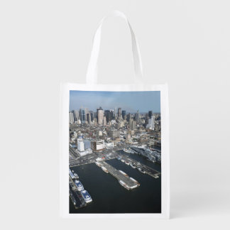 Port in New York City Grocery Bag