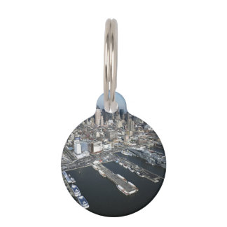 Port in New York City Pet ID Tag