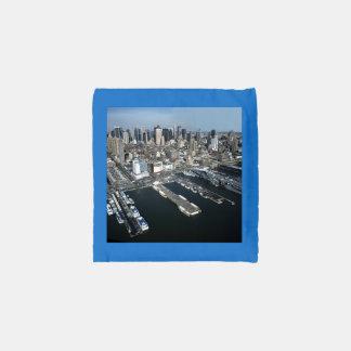 Port in New York City Reusable Bag
