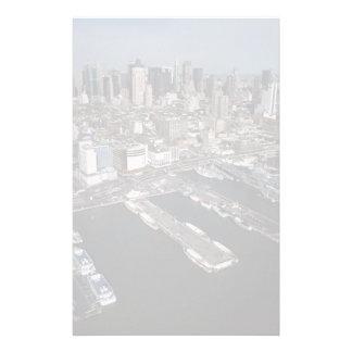 Port in New York City Stationery