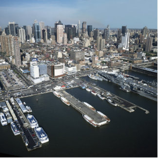 Port in New York City Statuette