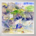 Port Isaac Cornwall Print