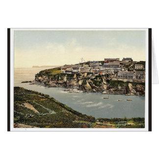 Port Isaac, looking N.E., Cornwall, England classi Card