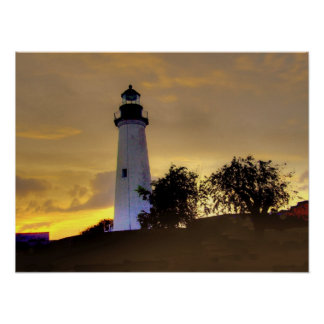 Port Isabel, Texas lighthouse Poster