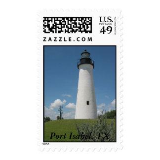 Port Isabel, TX Stamp