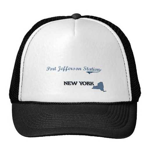 Port Jefferson Station New York City Classic Trucker Hat