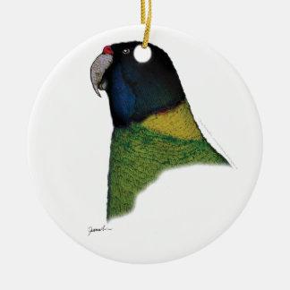 port lincoln parrot, tony fernandes ceramic ornament